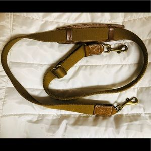 Coach cloth & leather replacement purse strap